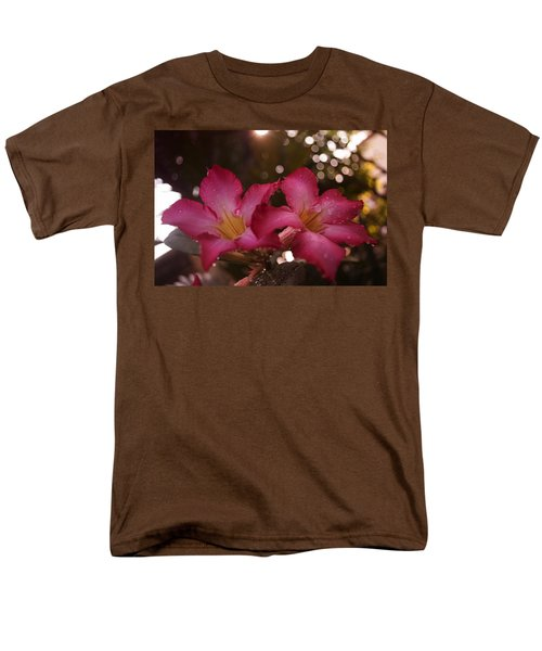 Morning Sunshine And Rain Men's T-Shirt  (Regular Fit) by Miguel Winterpacht