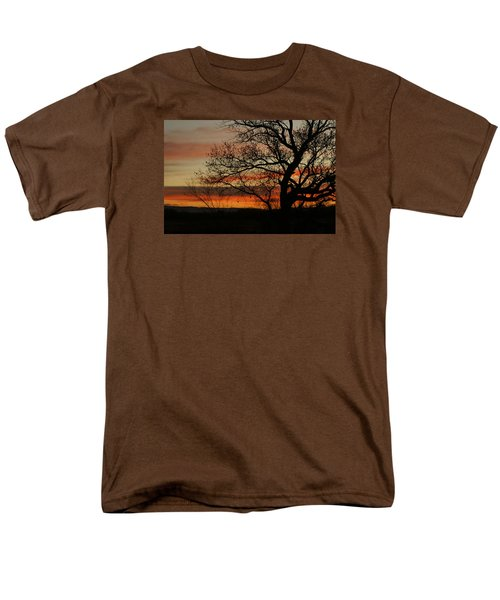 Morning View In Bosque Men's T-Shirt  (Regular Fit) by James Gay