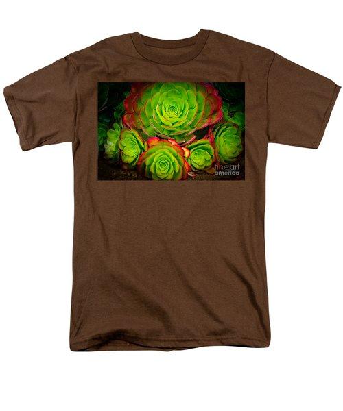 Morro Bay Echeveria Men's T-Shirt  (Regular Fit)