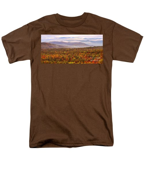 Mountain Mornin' In Autumn Men's T-Shirt  (Regular Fit) by Lydia Holly