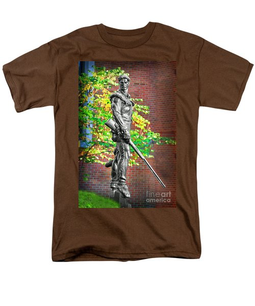 Mountaineer Statue Men's T-Shirt  (Regular Fit) by Dan Friend