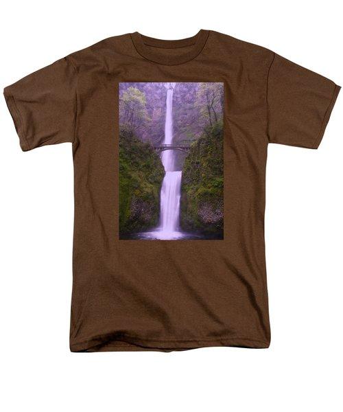 Multnomah In The Drizzling Rain Men's T-Shirt  (Regular Fit) by Jeff Swan