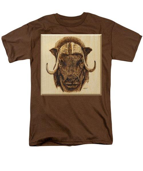 Muskox Men's T-Shirt  (Regular Fit) by Ron Haist