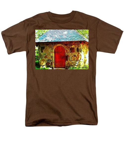 Myth And Mystical Chapel Men's T-Shirt  (Regular Fit) by Becky Lupe