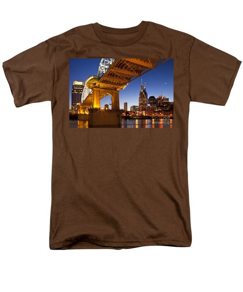 Nashville Tennessee Men's T-Shirt  (Regular Fit) by Brian Jannsen