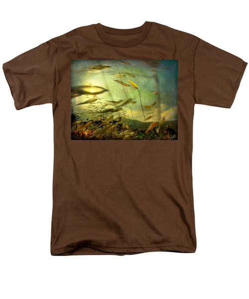 Nature #12. Strong Wind Men's T-Shirt  (Regular Fit) by Alfredo Gonzalez