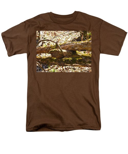 Men's T-Shirt  (Regular Fit) featuring the photograph Natures Fence by Nick Kirby
