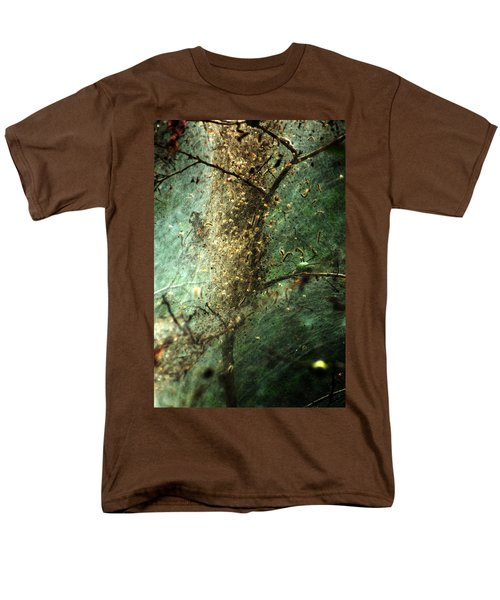 Natures Past Captured In A Web Men's T-Shirt  (Regular Fit) by Kim Pate