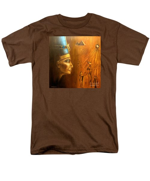 Nefertiti Men's T-Shirt  (Regular Fit) by Arturas Slapsys