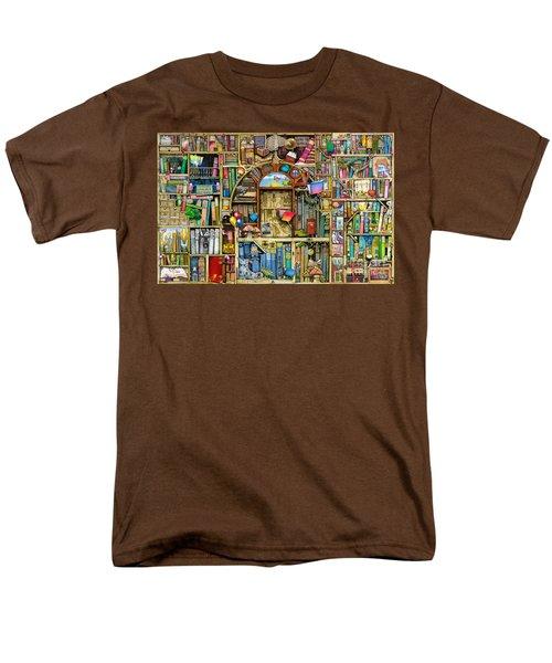 Neverending Stories Men's T-Shirt  (Regular Fit) by Colin Thompson