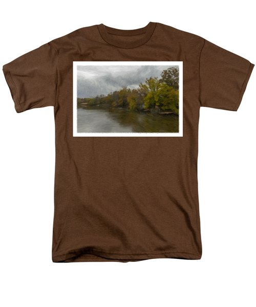 New Milford By Water Side Men's T-Shirt  (Regular Fit)