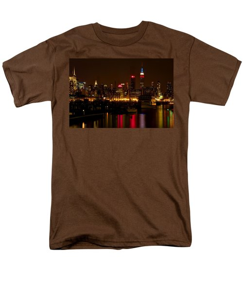 New York City Men's T-Shirt  (Regular Fit) by Dave Files