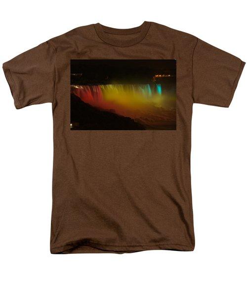 Niagara Falls A Glow Men's T-Shirt  (Regular Fit) by Dave Files