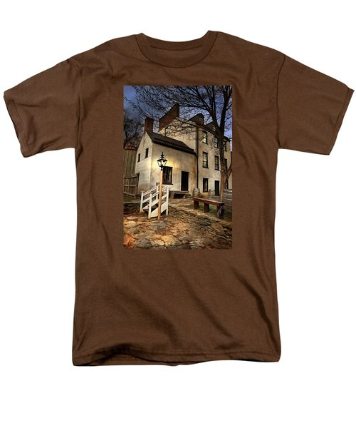 Men's T-Shirt  (Regular Fit) featuring the digital art Night Watchman by Mary Almond