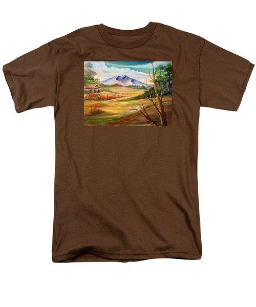 Nipa Hut 2  Men's T-Shirt  (Regular Fit) by Remegio Onia
