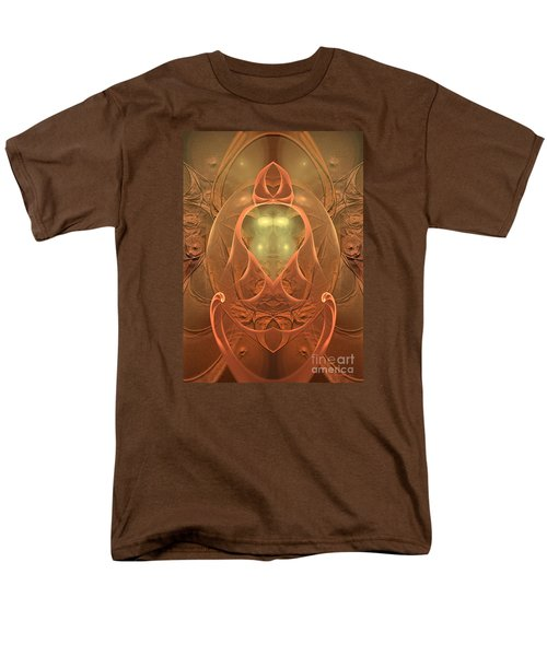 Men's T-Shirt  (Regular Fit) featuring the digital art Nirvana by Sipo Liimatainen