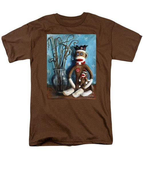 No Monkey Business Here 1 Men's T-Shirt  (Regular Fit)
