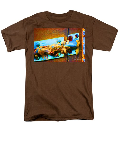 Men's T-Shirt  (Regular Fit) featuring the photograph No Trespassing by Christiane Hellner-obrien