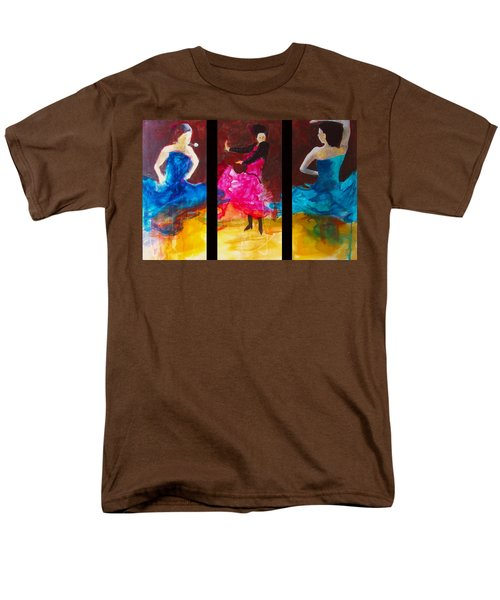 No Volre  Triptych Men's T-Shirt  (Regular Fit) by Keith Thue