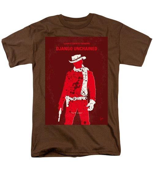 No184 My Django Unchained Minimal Movie Poster Men's T-Shirt  (Regular Fit)