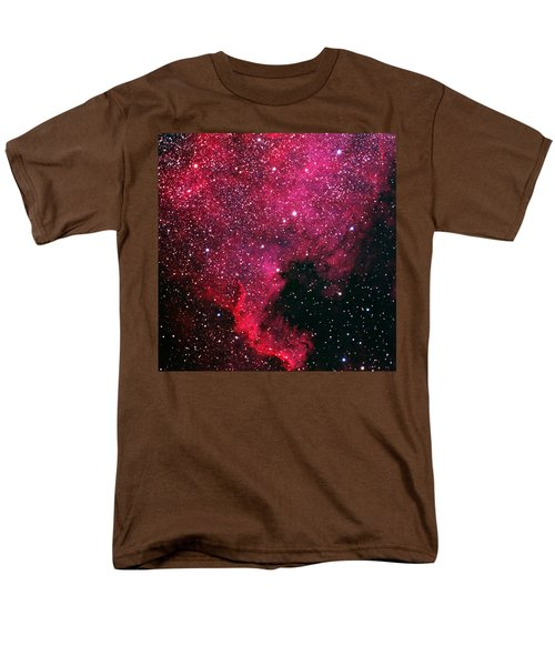 North American Nebula Men's T-Shirt  (Regular Fit) by Alan Vance Ley