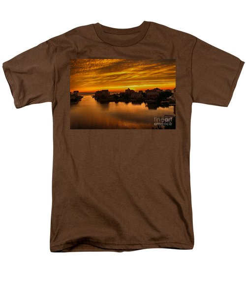 North Carolina Sunset Men's T-Shirt  (Regular Fit) by Tony Cooper
