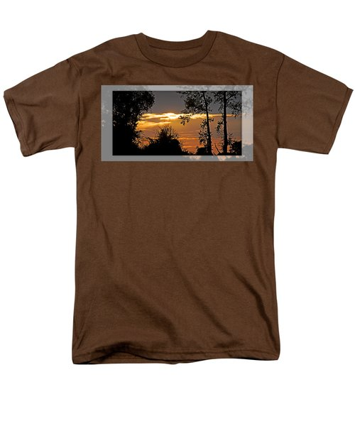 North Carolina Sunset Men's T-Shirt  (Regular Fit) by Walter Herrit
