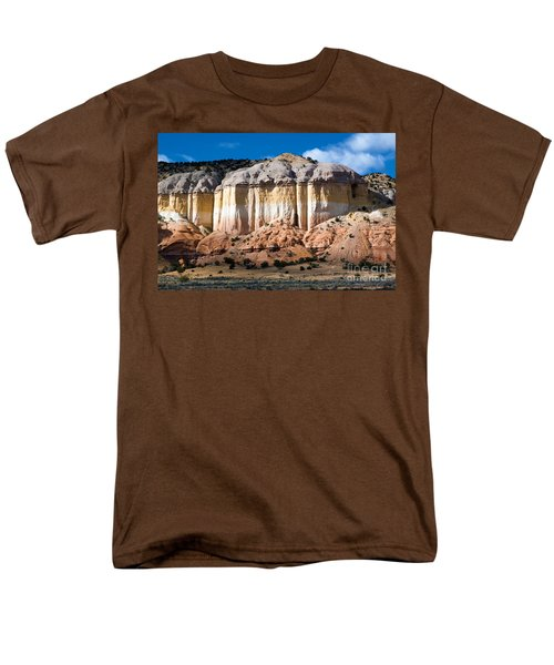 Northern New Mexico Men's T-Shirt  (Regular Fit) by Roselynne Broussard