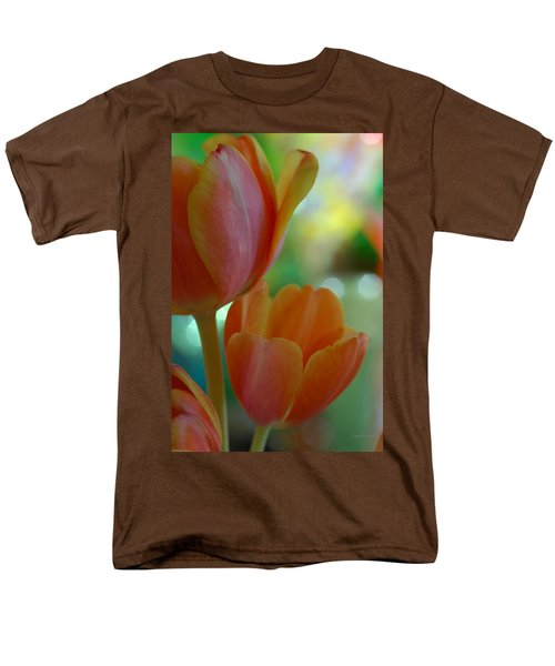 Nothing As Sweet As Your Tulips Men's T-Shirt  (Regular Fit) by Donna Blackhall