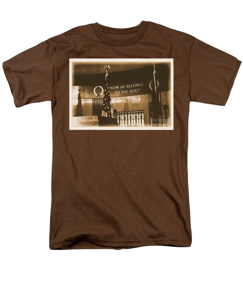 Men's T-Shirt  (Regular Fit) featuring the photograph Now He Belongs To The Ages by Luther Fine Art