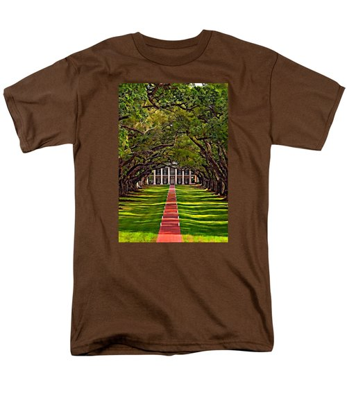 Oak Alley II Men's T-Shirt  (Regular Fit) by Steve Harrington