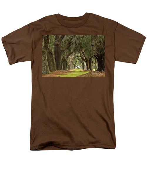 Oaks Of The Golden Isles Men's T-Shirt  (Regular Fit) by Adam Jewell