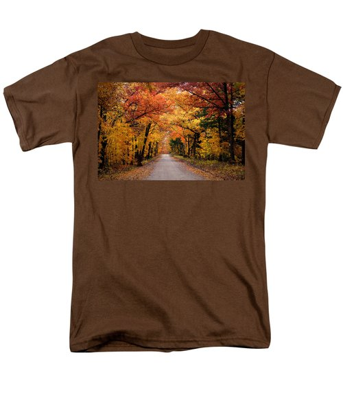 October Road Men's T-Shirt  (Regular Fit) by Cricket Hackmann