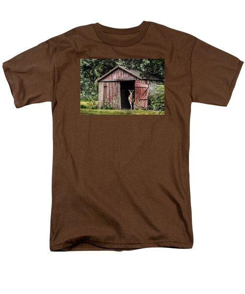 Old Gray Mare Men's T-Shirt  (Regular Fit) by Debbie Green