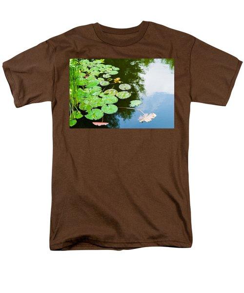 Old Pond - Featured 3 Men's T-Shirt  (Regular Fit) by Alexander Senin
