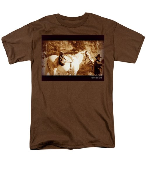 Men's T-Shirt  (Regular Fit) featuring the photograph Old Spain by Clare Bevan