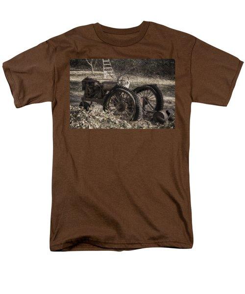 Old Tractor Men's T-Shirt  (Regular Fit) by Lynn Geoffroy