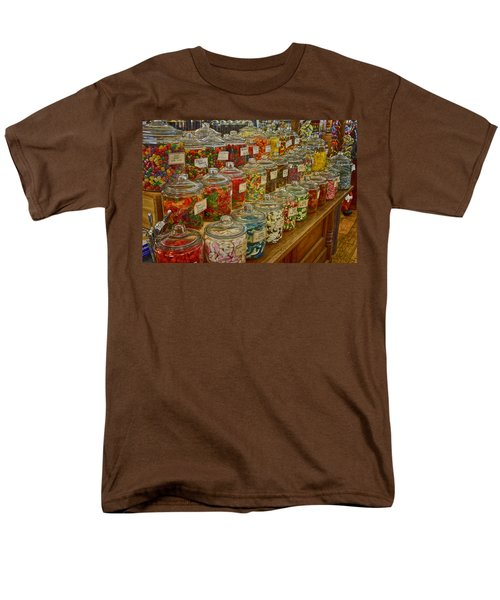 Old Village Mercantile Caledonia Mo Candy Jars Dsc04014 Men's T-Shirt  (Regular Fit) by Greg Kluempers