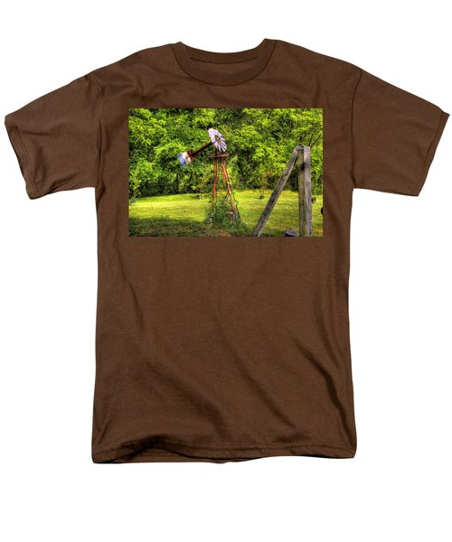 Men's T-Shirt  (Regular Fit) featuring the photograph Old Windmill by Jonny D