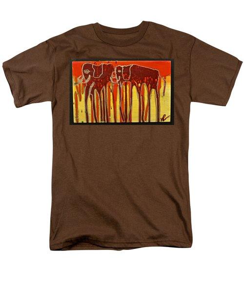 Oliphaunts Men's T-Shirt  (Regular Fit) by Mario Perron