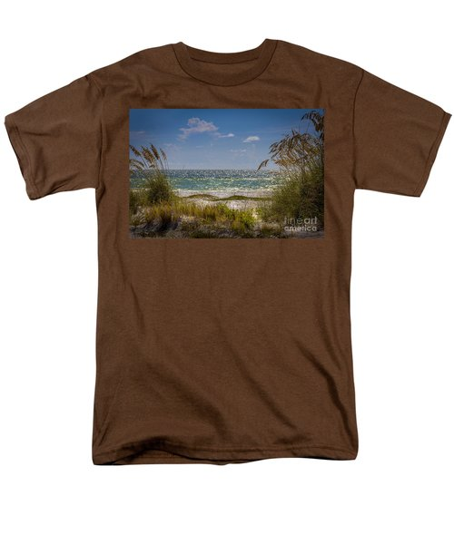 On A Clear Day Men's T-Shirt  (Regular Fit) by Marvin Spates