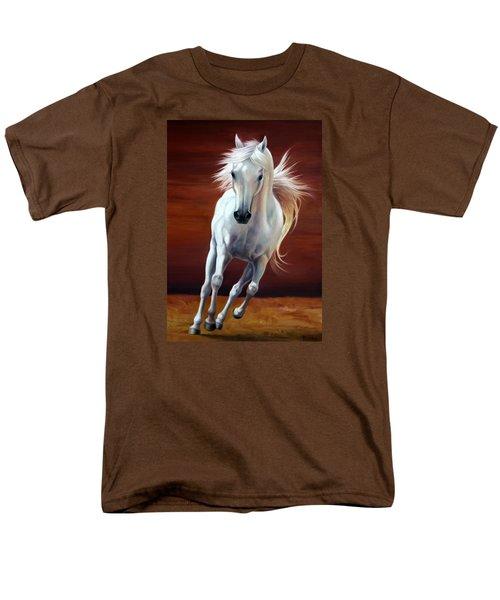 On Fire Men's T-Shirt  (Regular Fit) by Vivien Rhyan