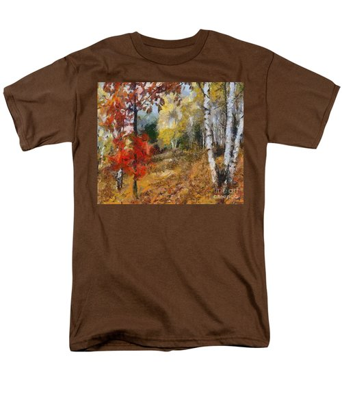 On The Edge Of The Forest Men's T-Shirt  (Regular Fit) by Dragica  Micki Fortuna