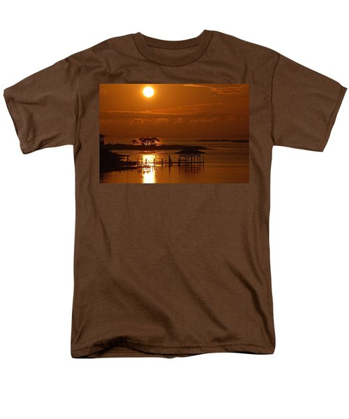 Men's T-Shirt  (Regular Fit) featuring the digital art On Top Of Tacky Jacks Sunrise by Michael Thomas