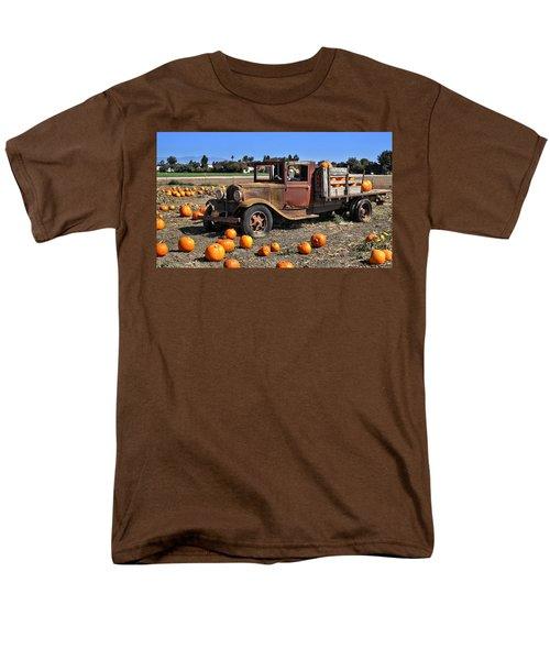 Men's T-Shirt  (Regular Fit) featuring the photograph One More Pumpkin by Michael Gordon