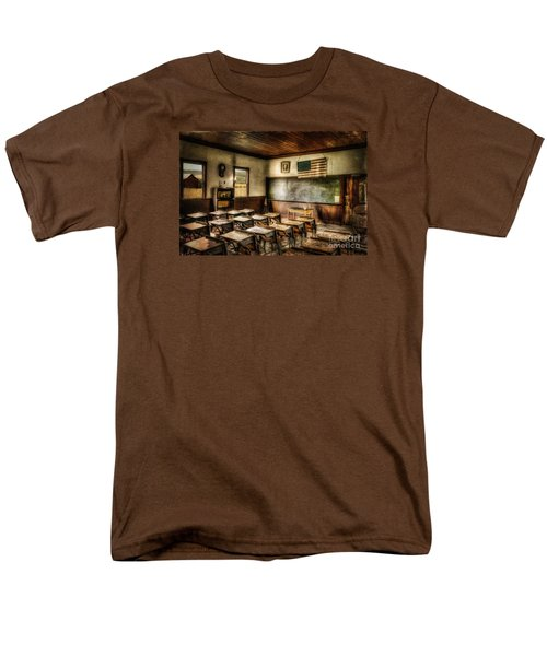 One Room School Men's T-Shirt  (Regular Fit) by Lois Bryan