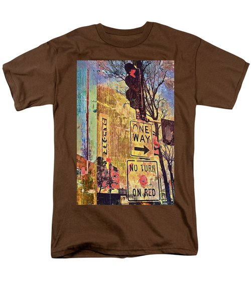 One Way To Uptown Men's T-Shirt  (Regular Fit) by Susan Stone