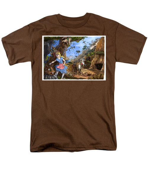 Men's T-Shirt  (Regular Fit) featuring the painting Open Sesame by Reynold Jay