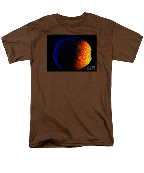 Orange And Blue Men's T-Shirt  (Regular Fit) by Paul  Wilford