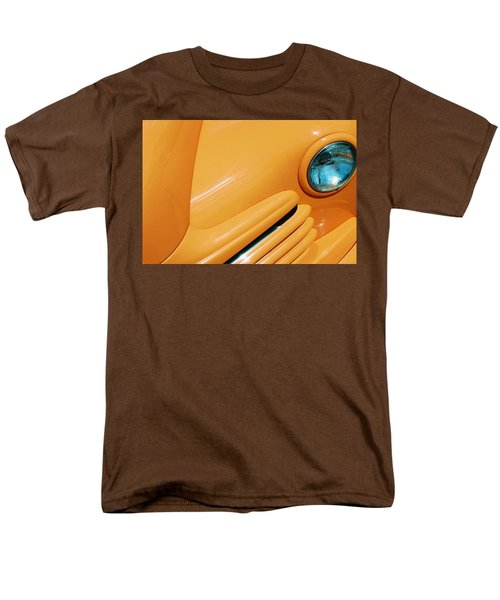 Orange Car Men's T-Shirt  (Regular Fit) by Daniel Thompson